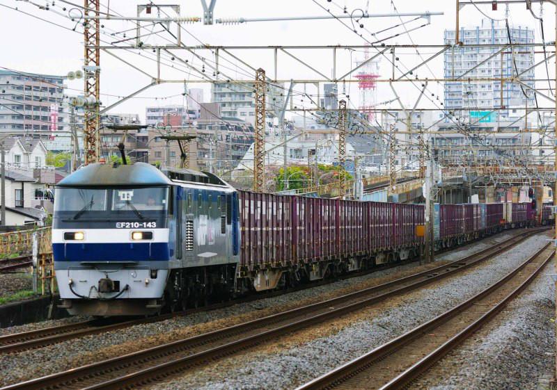 東海道線 大磯 平塚 撮影地 EF210 桃太郎 貨物列車 東海道熱海口貨物