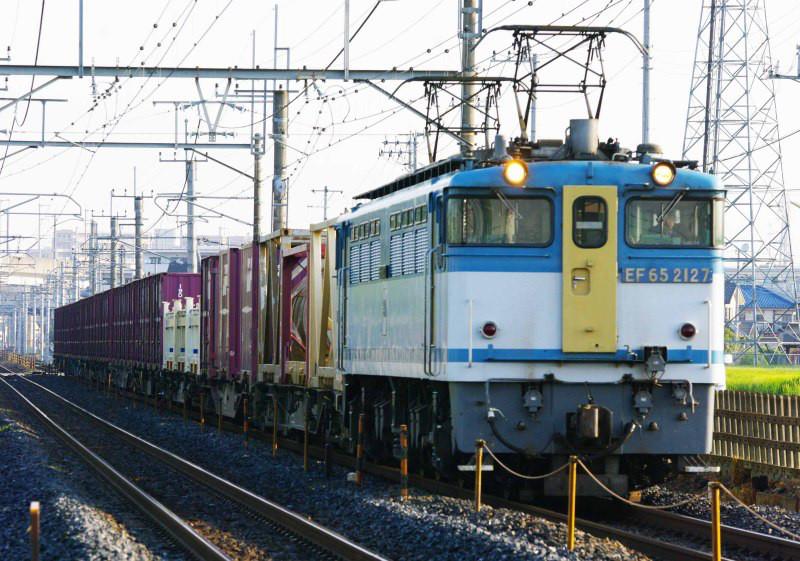 EF65-2000 宇都宮線 新白岡 久喜