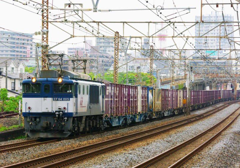 東海道線 EF64-1000 平塚 大磯 3075ㇾ 東海道熱海口貨物 撮影地 貨物撮影