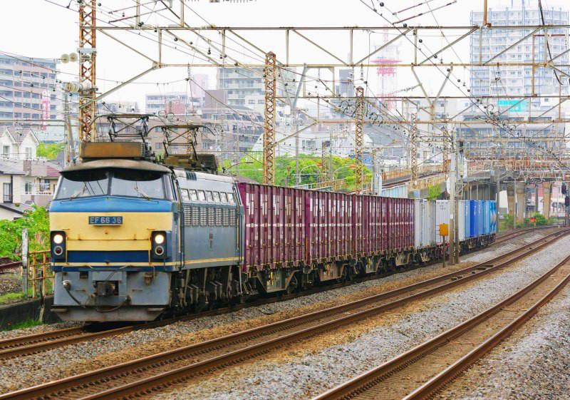 5095ㇾ EF66-0 ゼロロク 平塚 大磯 東海道線 東海道熱海口貨物 撮影地 貨物撮影