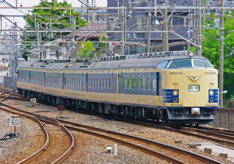 583系 583系秋田車 ニコニコ超会議号 武蔵野線 西船橋駅 撮影地