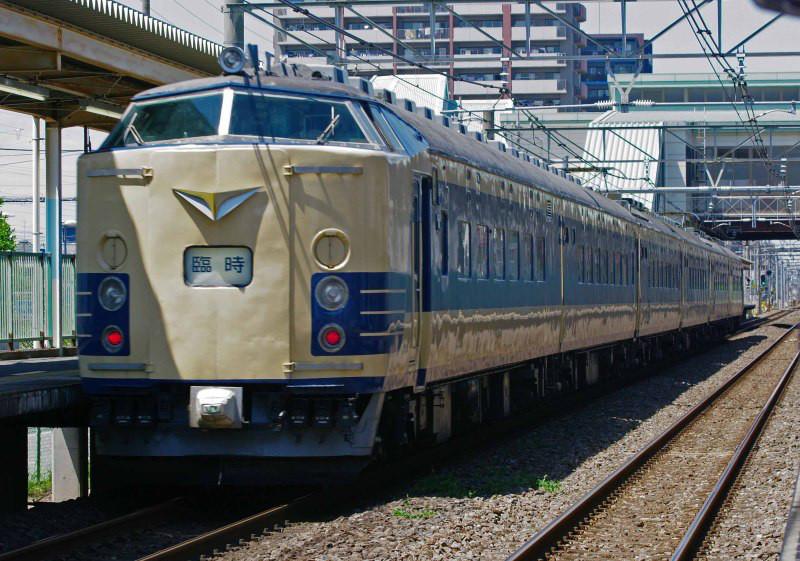 583系 583系秋田車 ニコニコ超会議号 高崎線 北上尾駅 撮影地