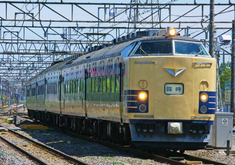 583系 583系秋田車 ニコニコ超会議号 高崎線 籠原駅 撮影地