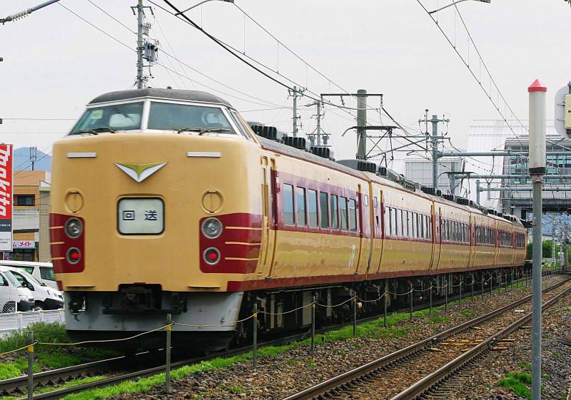 189系 あずさ77号 臨時あずさ 南松本 平田 篠ノ井線 M52編成