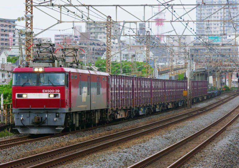 EH500 金太郎 平塚 大磯 東海道線 貨物列車 撮影地 東海道熱海口貨物