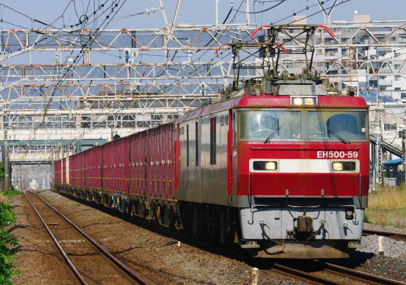 EH500金太郎 2079ㇾ 相模貨物 平塚 大磯 東海道線 撮影地 貨物列車 東海道熱海口貨物