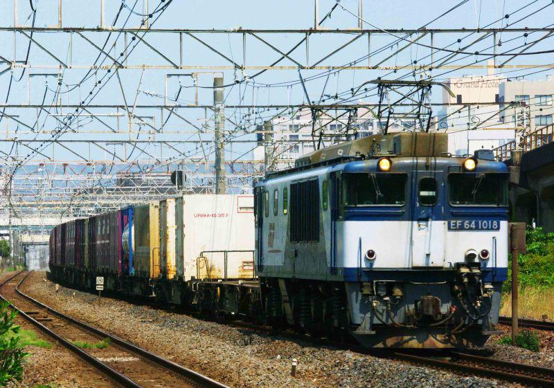 EF64-1000 平塚 大磯 東海道線 3075ㇾ 撮影地 東海道熱海口貨物 貨物列車