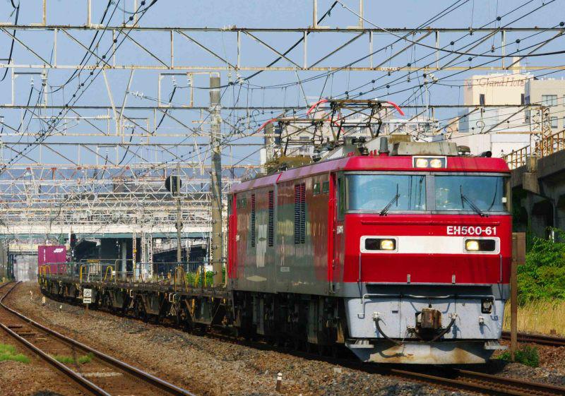 EH500 金太郎 東海道線 平塚 大磯 東海道熱海口貨物 2079ㇾ 撮影地 貨物列車