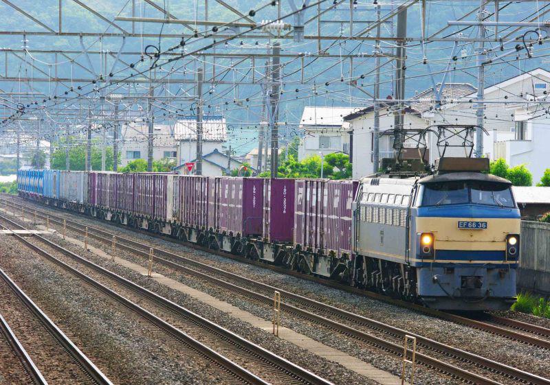 EF66-0 ゼロロク 36号機 二宮 大磯 東海道線 貨物列車 撮影地 5094ㇾ
