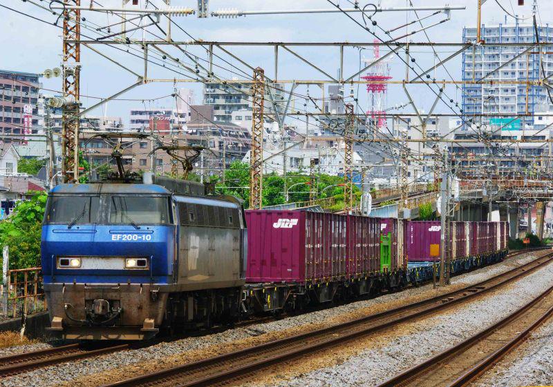 EF200 1155ㇾ 平塚 大磯 東海道線 貨物列車 撮影地 東海道熱海口貨物 鍼灸マッサージ 平塚市