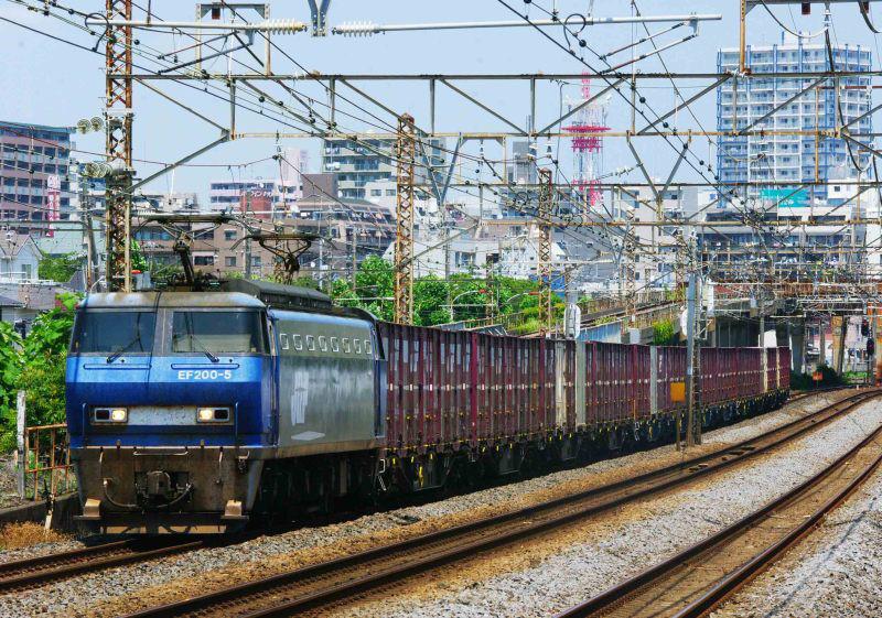 EF200 平塚 大磯 東海道線 平塚市 鍼灸マッサージ 撮影地 貨物列車