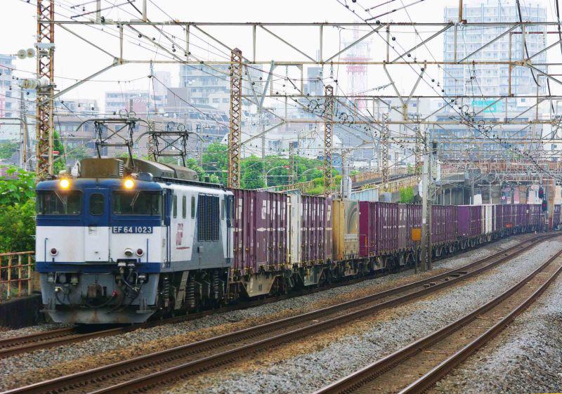 3075ㇾ 平塚 大磯 東海道線 撮影地 貨物列車 EF64-1000 鍼灸マッサージ 平塚市