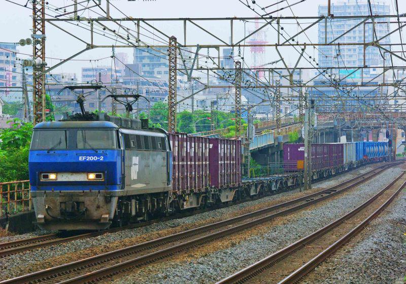 EF200 5095ㇾ 東海道線 平塚 大磯 撮影地 貨物列車 平塚市 鍼灸マッサージ