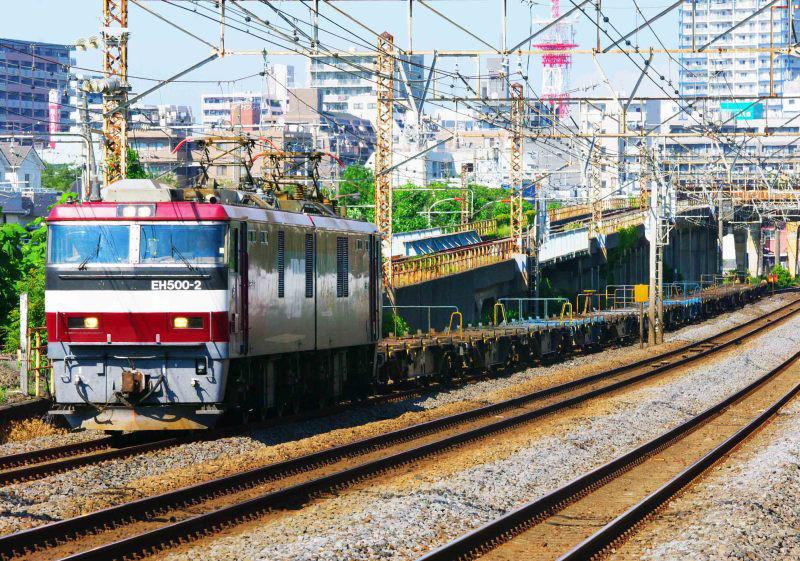 2079ㇾ EH500 金太郎 平塚 大磯 東海道線 撮影地 貨物列車