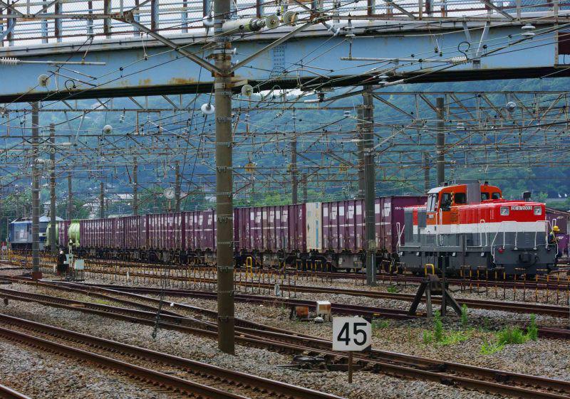 平塚 大磯 東海道線 貨物列車 撮影地 DE11 2003号機 1155ㇾ