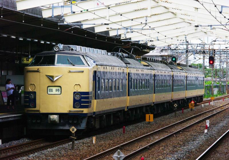 583系 583系秋田車 天理臨 撮影地 武蔵野線 南流山駅