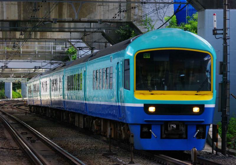 485系 ニューなのはな  西大井駅 横須賀線 湘南新宿ライン 撮影地