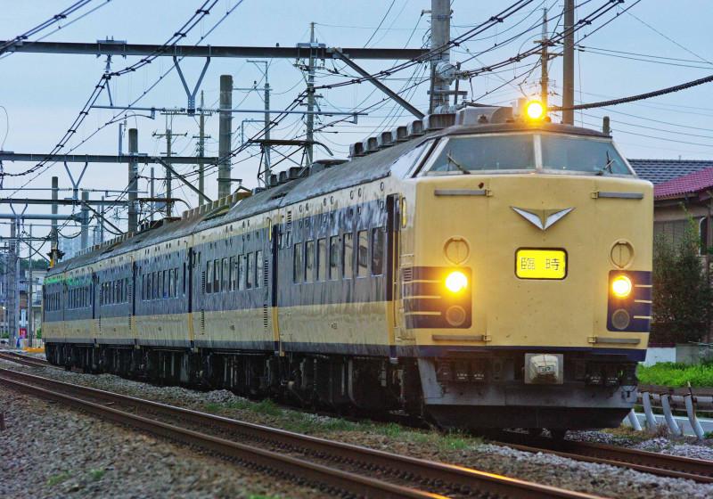 583系 583系秋田車 快速あいづ号 磐越西線 高崎線 上尾 宮原 撮影地 送り込み回送