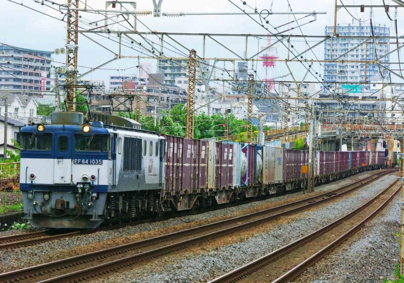 3075ㇾ EF64-1000 平塚 大磯 東海道線 撮影地 貨物列車 鍼灸マッサージ 平塚市 治療院