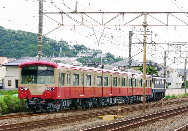 東海道線 大磯 二宮 撮影地 伊豆箱根鉄道 大雄山線 5000系 赤電カラー 甲種回送 EF65-2000 2139号機