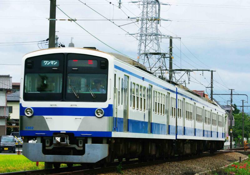 伊豆箱根鉄道 駿豆線 三島二日町 大場 北沢 撮影地 火の見踏切 1300系