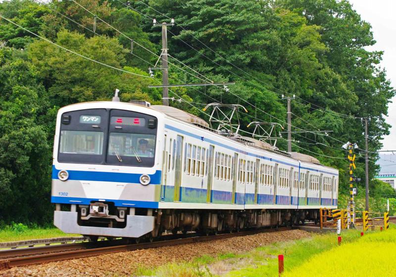 伊豆箱根鉄道 駿豆線 北沢林道踏切 三島二日町 大場 撮影地 1300系 赤電
