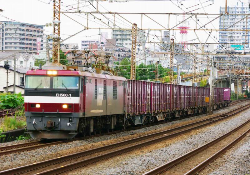 EH500 金太郎 平塚 大磯 2079ㇾ 1号機 撮影地 貨物列車 東海道線