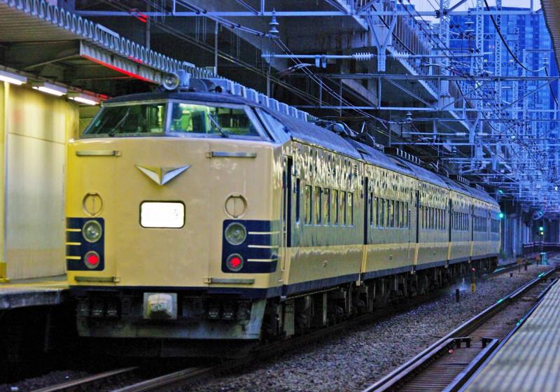 583系 583系秋田車 横須賀線 湘南新宿ライン 西大井駅 天理臨 撮影地