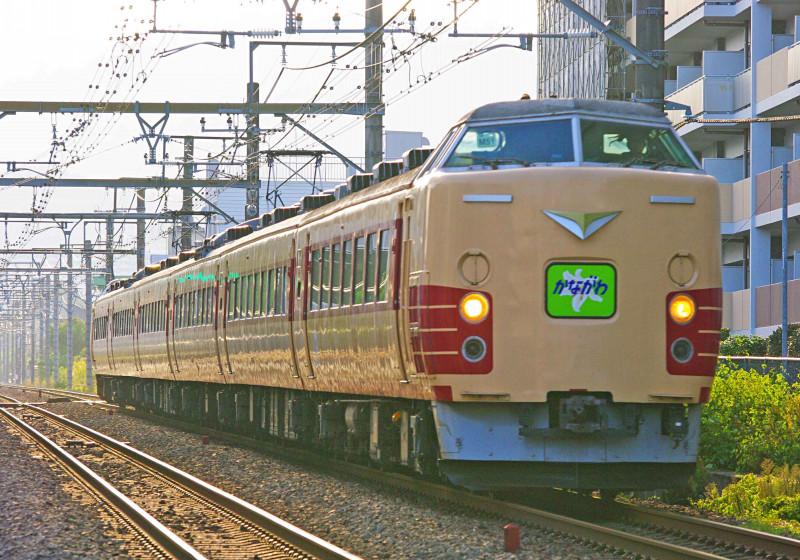 189系 豊田車 M51編成 西八王子 高尾 中央線 撮影地 カナロコ臨 189系で行く神奈川満喫の旅