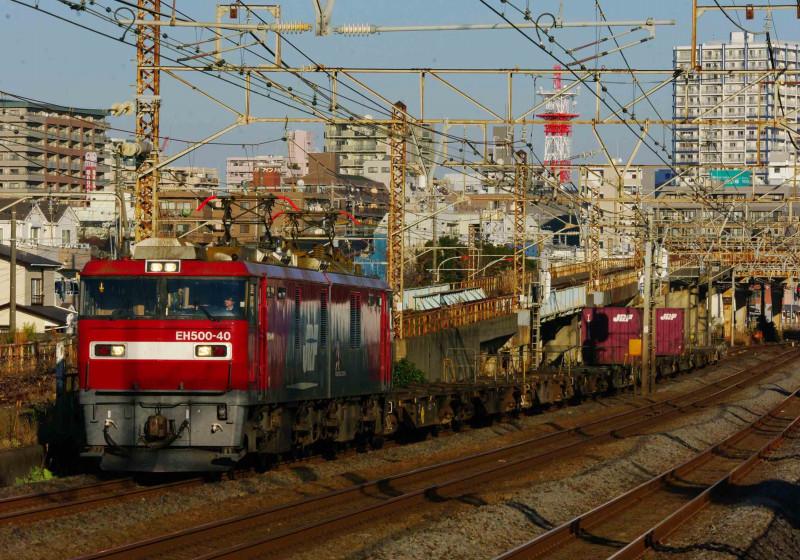 EH500 金太郎 イエローパラダイストレイン 2079レ 平塚 大磯 伊豆箱根鉄道 撮影地 1300系