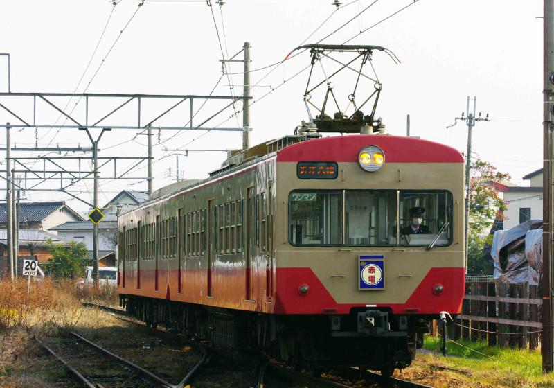 近江鉄道 西武鉄道 新八日市 八日市 撮影地 ゴルフ急行 赤電 820形