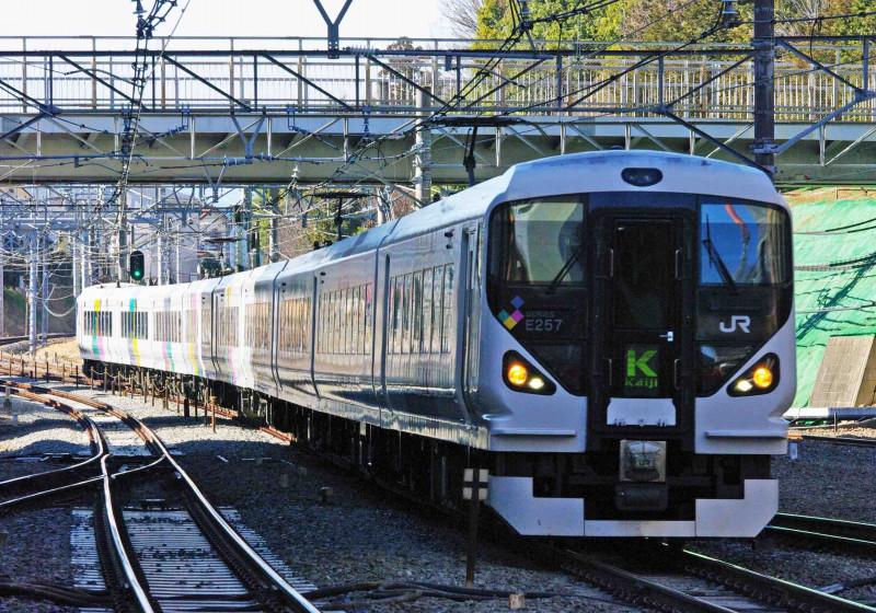 中央線 国分寺駅 E353系 試運転 スーパーあずさ あずさ かいじ 究極の583系 貨物列車 東海道線 583系