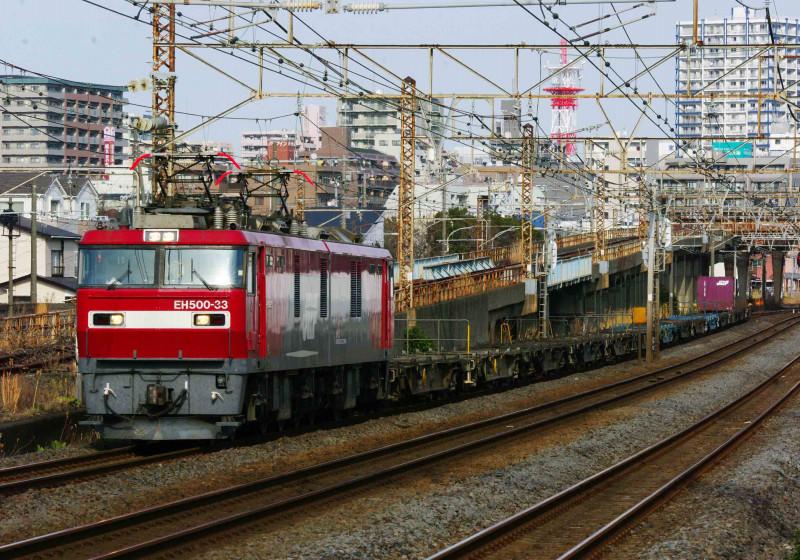EH500 金太郎 2079ㇾ 東海道線 大磯 平塚 撮影地 貨物列車 究極の583系