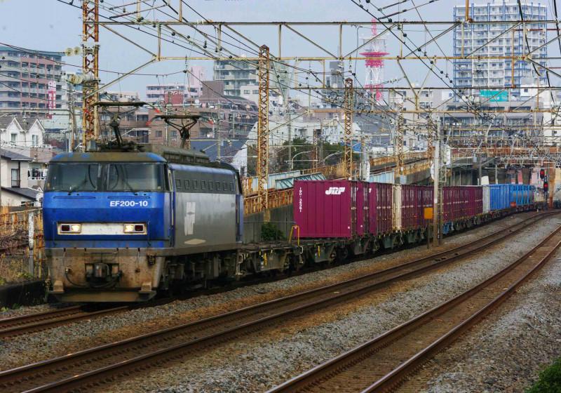 東海道線 平塚 大磯 貨物列車 0463チャレンジセンター 撮影地 究極の583系