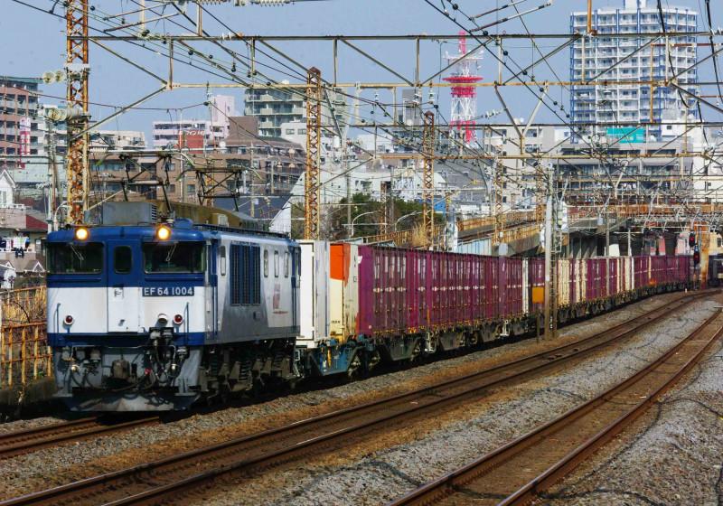EF64-1000 東海道線 貨物列車 平塚 大磯 3075ㇾ 撮影地 0463チャレンジセンター 究極の583系 胡散臭い