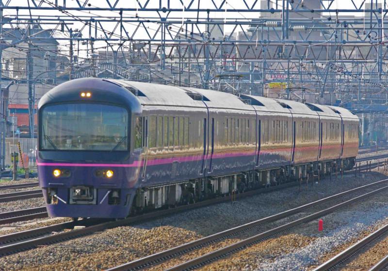 撮影地 485系 485系改 華 ジョイフルトレイン 東海道線 横須賀線 戸塚 大船 大カーブ 究極の583系