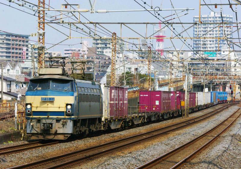 東海道線 撮影地 平塚 大磯 EF66-0 33号機 5095ㇾ 撮影地 究極の583系 貨物列車