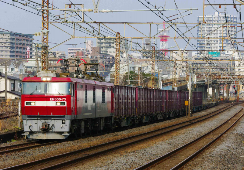 EH500 金太郎 2079ㇾ 東海道線 平塚 大磯 究極の583系 撮影地 貨物列車