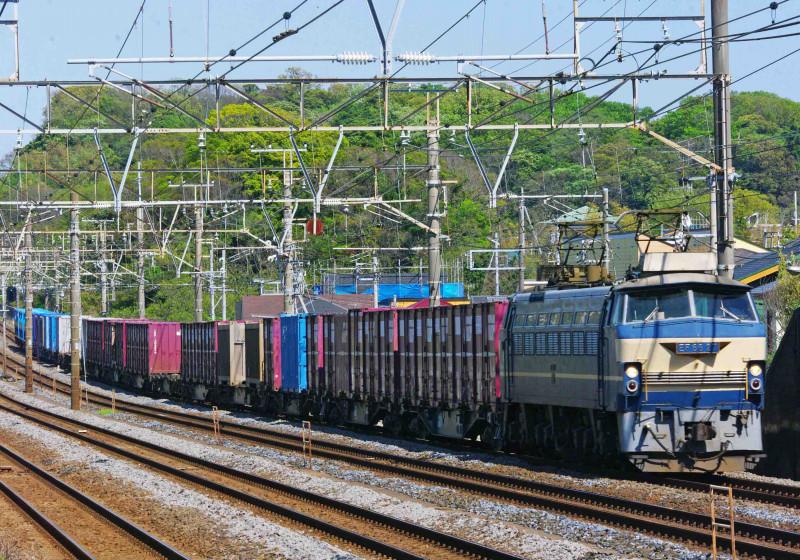 EF66-0 27号機 ニーナ 東海道線 大磯 二宮 撮影地 貨物列車 究極の583系