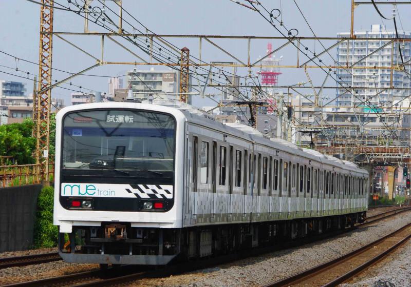 209系 試運転 珍客 レア車 mue-train 東海道線 平塚 大磯 撮影地 究極の583系