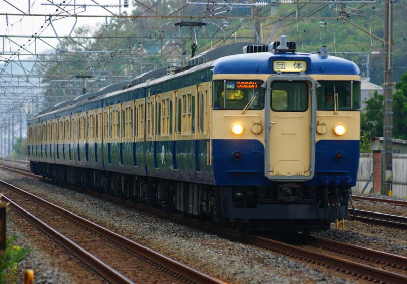 東海道線 大磯 二宮 撮影地 M40編成 貨物列車 しなの鉄道 スカ色 115系 リバイバルカラー 究極の583系