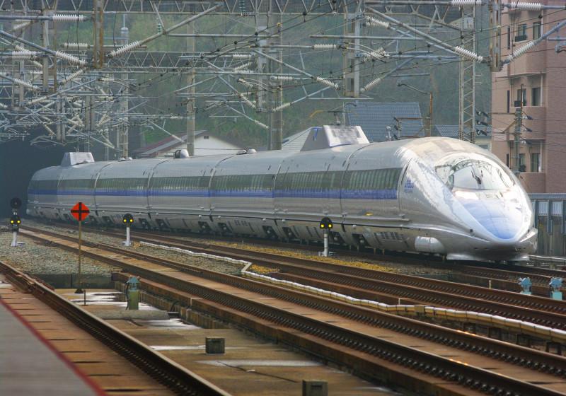 500系 東海道新幹線 山陽新幹線 新下関駅 500系新幹線 究極の583系 撮影地 V編成 8連