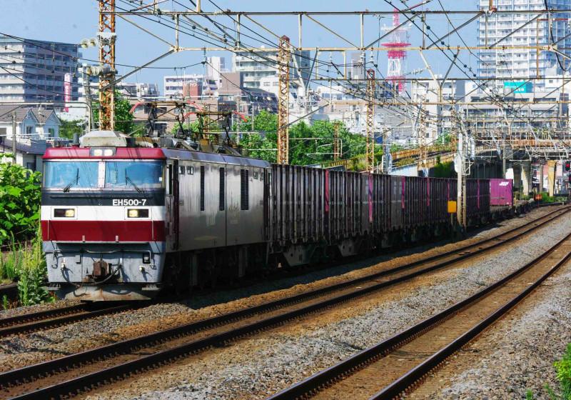 2079ㇾ EH500 金太郎 貨物列車 撮影地 平塚 大磯 究極の583系 伊豆急2100系 THE ROYAL・EXPRESS