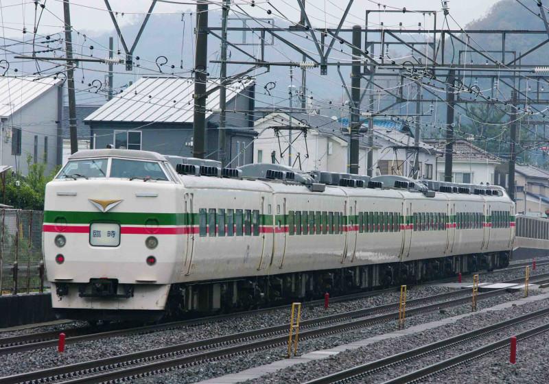 189系 豊田車 M52編成 大磯 二宮 究極の583系 ホリデー快速あたみ号 東海道線 撮影地