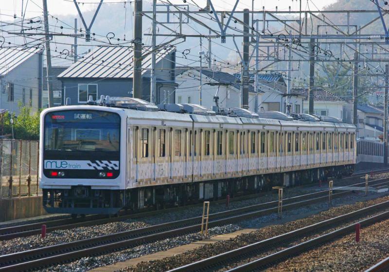 209系 mue-train 試運転 東海道線 大磯 二宮 撮影地 究極の583系