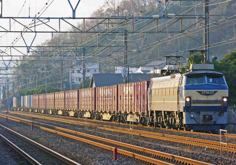 EF66-0 27号機 平塚 大磯 二宮 東海道線 貨物列車 撮影地 究極の583系