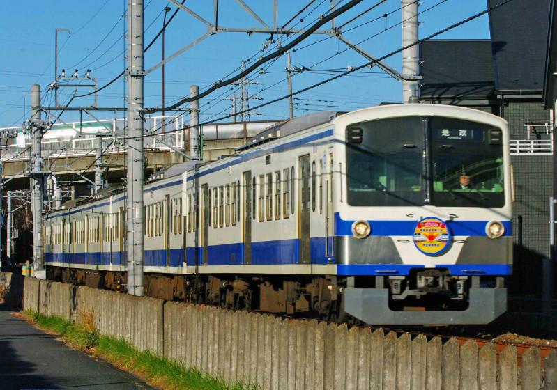 101系 伊豆箱根鉄道1300系 究極の583系 西武鉄道 多摩川線 白糸台 競艇場前 ライオンズブルー