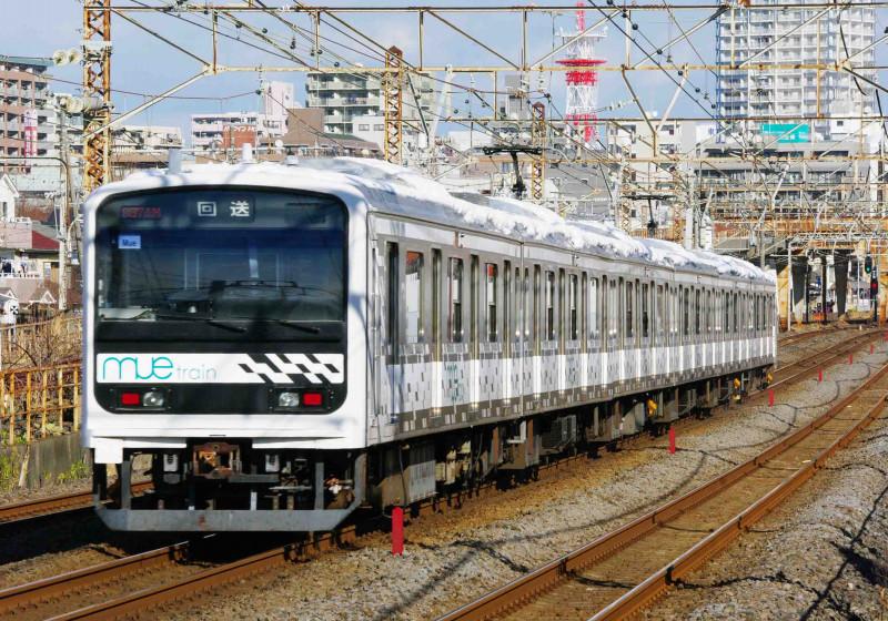 209系 Mue-train 平塚 大磯 究極の583系 撮影地 209系 改 試運転 東海道線 平塚市 鍼灸マッサージ