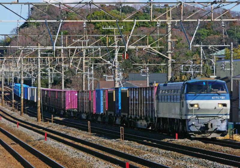 東海道線 大磯 二宮 平塚 貨物列車 EF66-100 究極の583系 DF200 関西本線 四日市 綱川健一 EH500