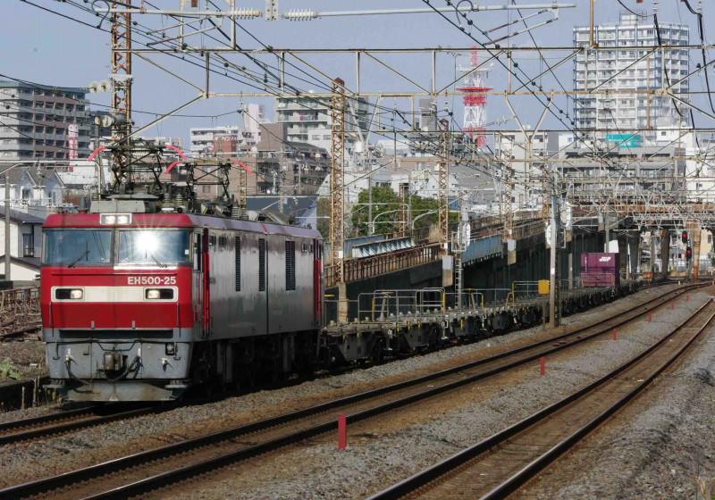 貨物列車 平塚 大磯 撮影地 EF66 EH500 究極の583系